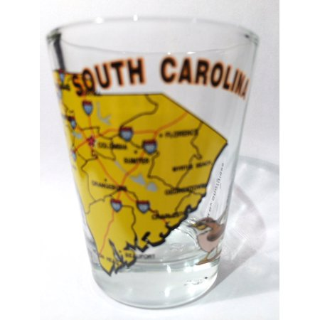 South Carolina The Palmetto State All American Collection Shot Glass