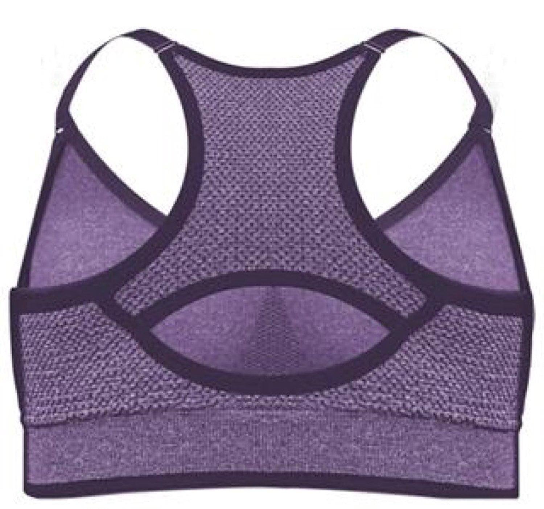 542c3aec0d PUMA - Womens Seamless Sports Bra with Removable Cups Purple X-Large By PUMA  - Walmart.com