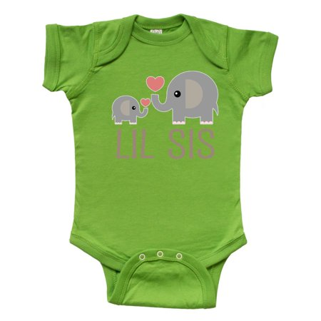 Baby Pink Creeper - Little Sister Elephant Infant Creeper