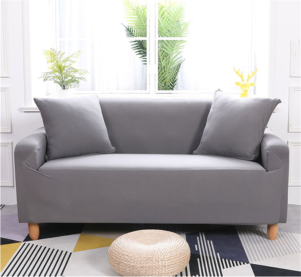 Ashata 1 3 Seater Stretch Loveseat Sofa Couch Protect Cover Slipcover  Washable Elastic,Sofa