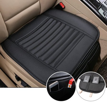 Breathable Car Interior Seat Cover Cushion Pad Mat for Auto Supplies Office Chair with PU Leather (Paul Jr Seat Covers)