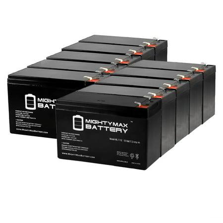 Pda Battery - 12V 7AH BATTERY RAZOR SWEET PEA 15130659, LITTLE RED 15130658 - 10 Pack