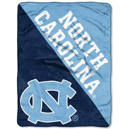 """North Carolina Tar Heels Memorabilia (NCAA North Carolina Tar Heels """"Halftone"""" 46""""x 60"""" Micro Raschel Throw)"""