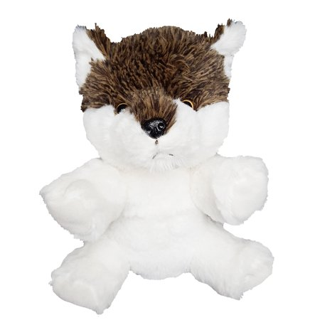 Record Your Own Plush 8 inch Wild Wolf - Ready 2 Love in a Few Easy Steps
