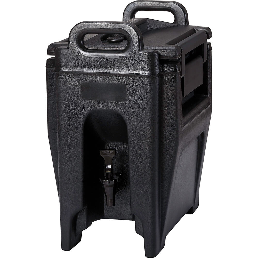 Cambro 2.75 Gal. Insulated Beverage Dispenser, Ultra Camtainer, Black, UC250-110