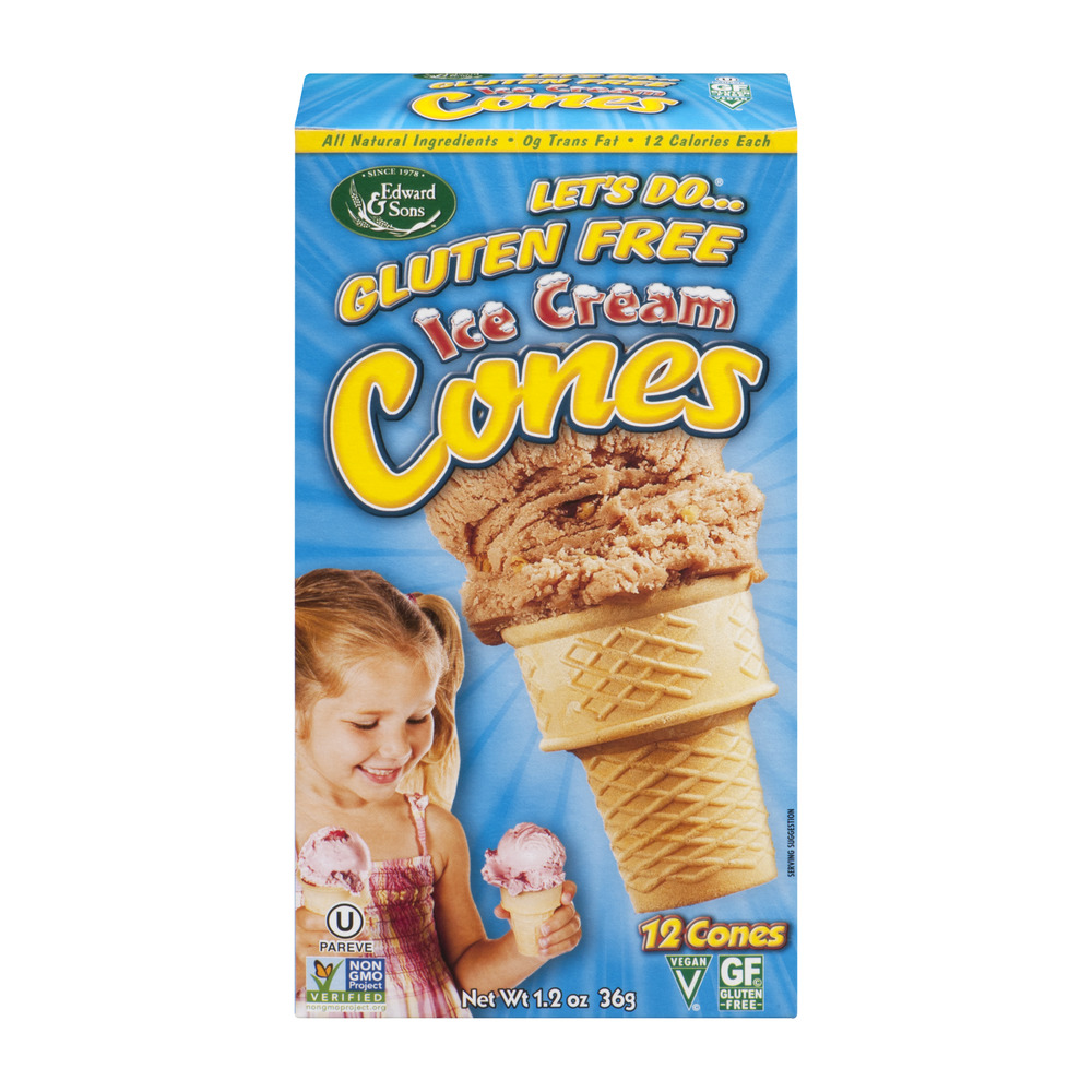 Let's Do...Gluten Free Ice Cream Cones - 12 CT