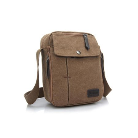 Multifuctional Retro Men Sport Canvas Messenger Bags Shoulder Bag Sling Casual Outdoor Sport Travel Hiking - Walmart.com