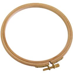 Edmunds German Hand Or Machine Embroidery Hoop, 10""