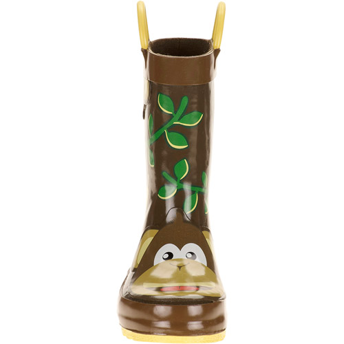 Toddler Boys' Monkey Rain Boots