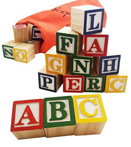 30 Alphabet Blocks by Skoolzy by Skoolzy