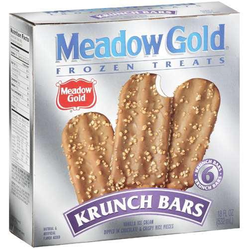 Meadow Gold Krunch Bars, 6 ct