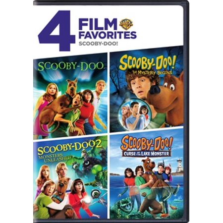 4 Film Favorites: Scooby-Doo (DVD) - Halloween 4 Film Complet