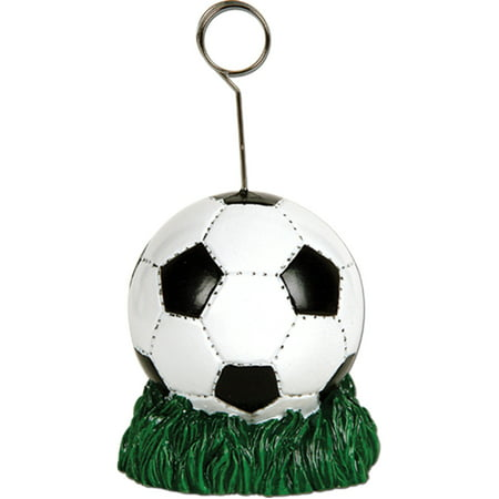 Pro Soccer Ball Card Photo Balloon Holder Player Party Decoration - Balloon Holder