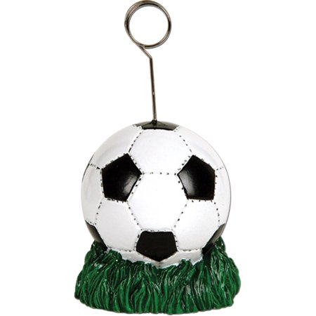 Pro Soccer Ball Card Photo Balloon Holder Player Party Decoration - Soccer Parties