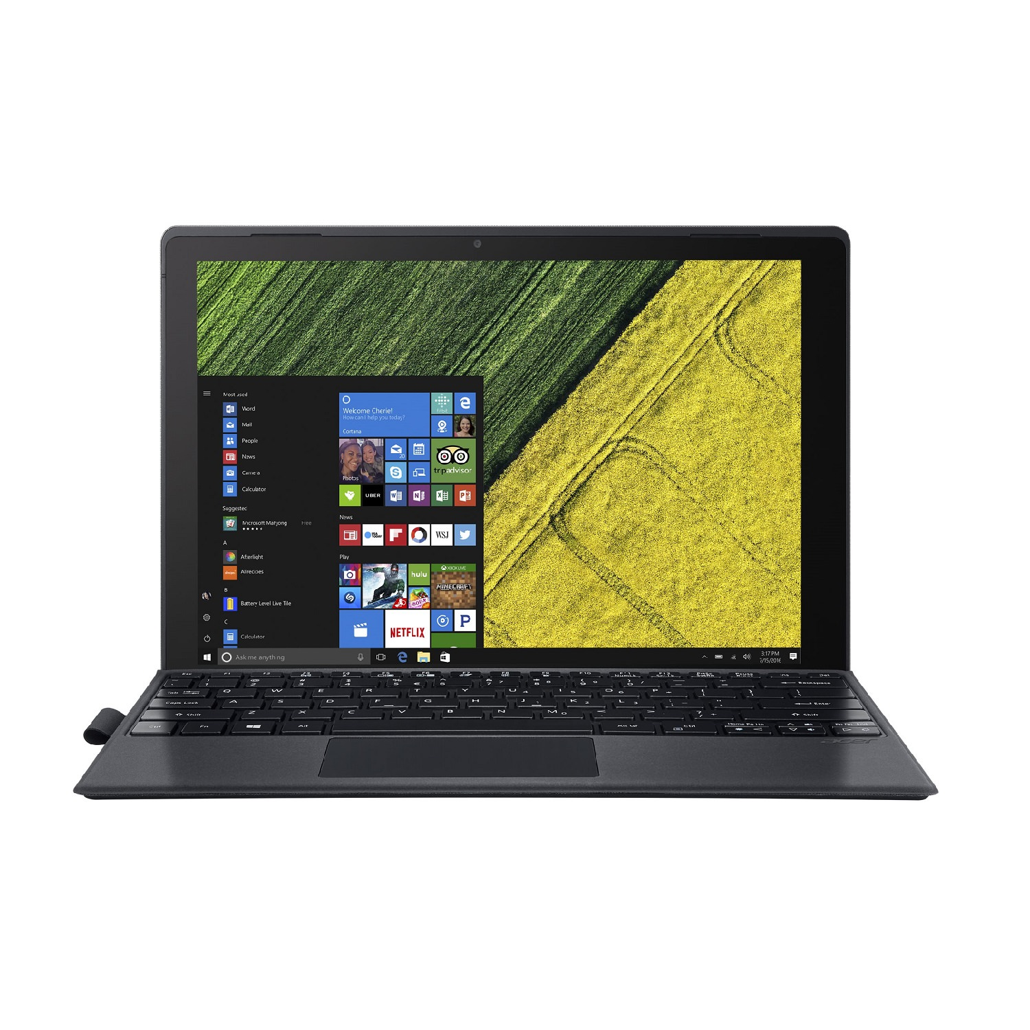 Acer Switch 5 2-in-1 Notebook with Intel i7-7500U, 8GB 256GB SSD