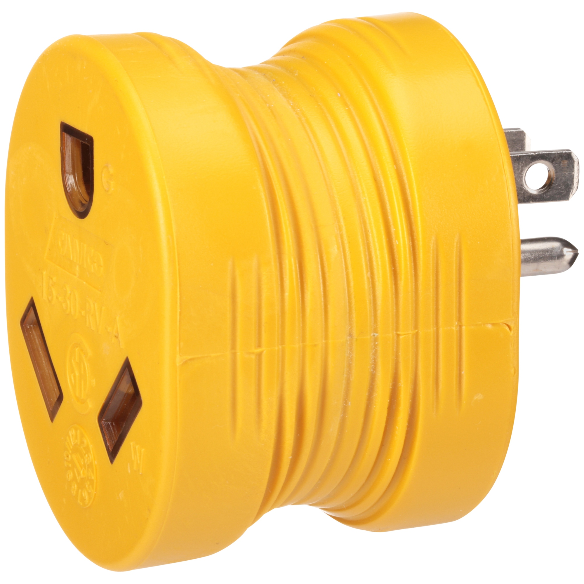 Camco PowerGrip™ 15M/30F Amp RV Electrical Adapter