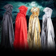 2018 Halloween Cloak Adult Cosplay Costume Hooded Cape Festival Vampire Fancy Dress