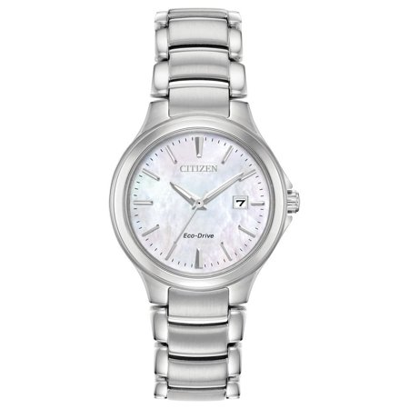 Citizen Eco Drive Stainless Steel Watch - Citizen  Ladies EW2520-56Y Eco-Drive Stainless Steel Watch - N/A