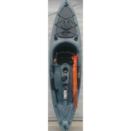 Ozark Trail 10 Sit-on-top Angler Kayak Gray Swirl, Paddle Included