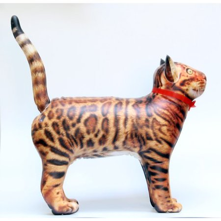 The Party Aisle Cat Inflatable Faux Taxidermy