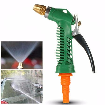 M Way Garden Hose Spray Gun Nozzle Sprayer Heavy Duty Metal Easy Flow Control Setting Ergonomic Trigger High Pressure Spary Nozzle For Car Washing  Plant Wate 16 5 26 3Ft