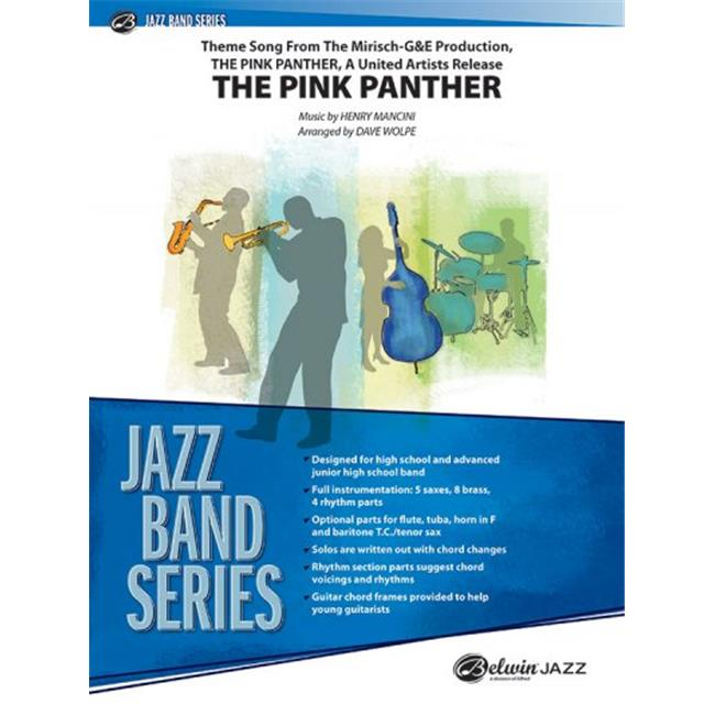 Alfred Music 00-2739PB2XC The Pink Panther CD