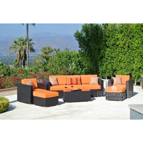 Willow Creek Designs Sonoma 6 Piece Deep Seating Group with Cushions