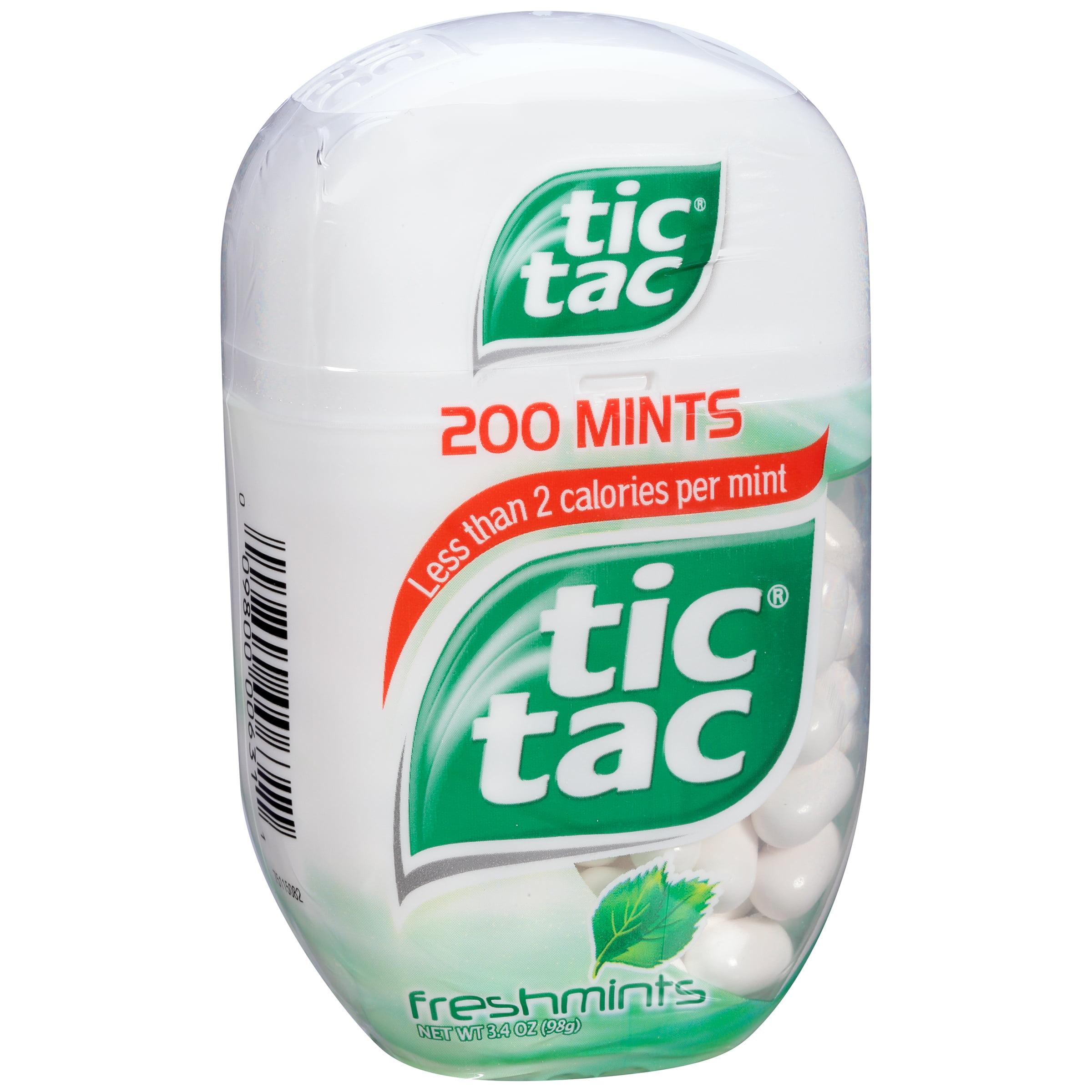 Freshmints Tic Tac Mints 3.4 oz. Pack by Ferrero U.S.A. Inc.