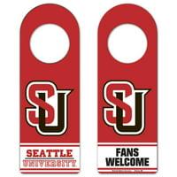 Seattle Redhawks Wooden Tier Door Hanger - Red