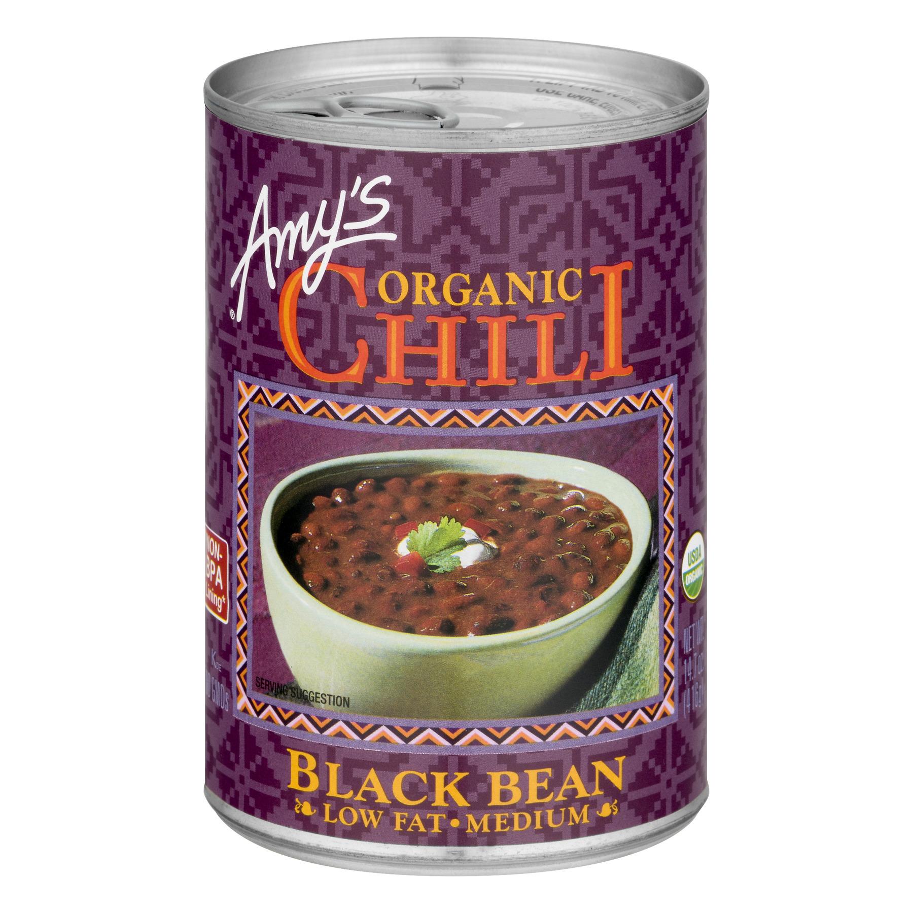 (4 Pack) Amy's Organic Black Bean Chili, 14.7 oz