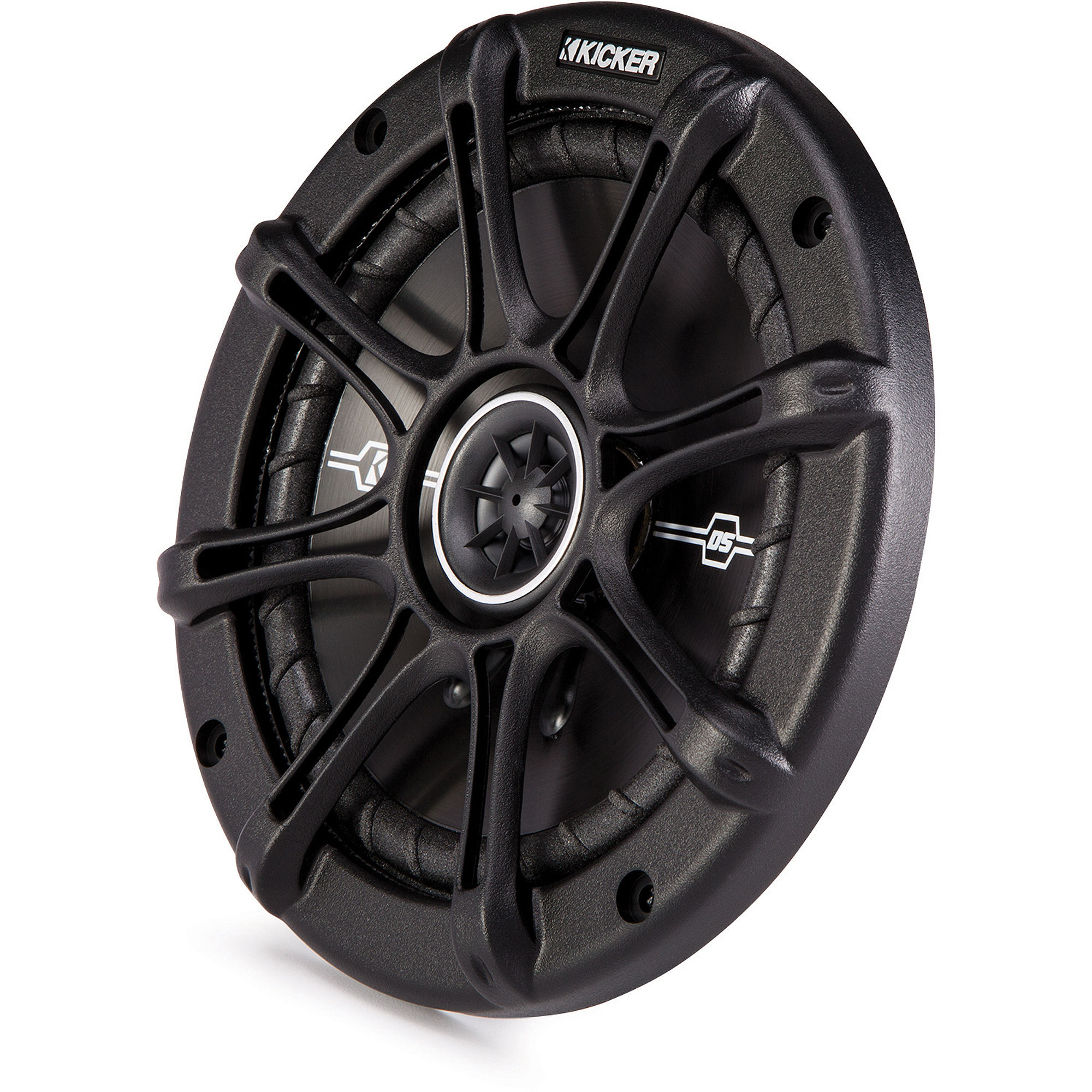 "Kicker DSC654 6.5"" Coaxial Speakers with 1/2"" Tweeters"