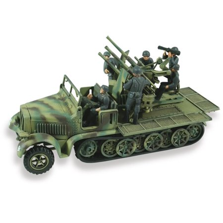 1:72 scale German 8 ton 1:2 track Weapons Carrier, Detailed replica By LINDBERG Ship from US
