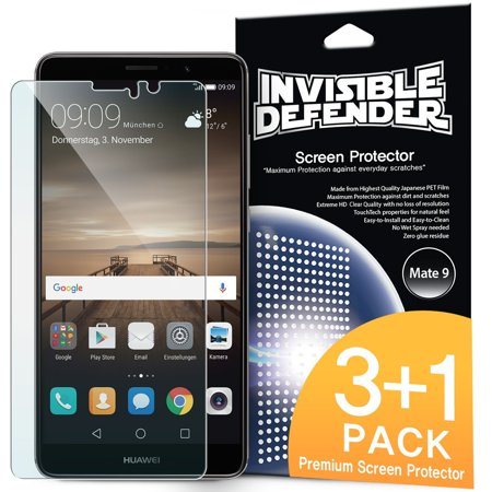 Huawei Mate 9 Screen Protector - Invisible Defender [3+1 Free/MAX HD CLEARNESS]](huawei mate 9 us)
