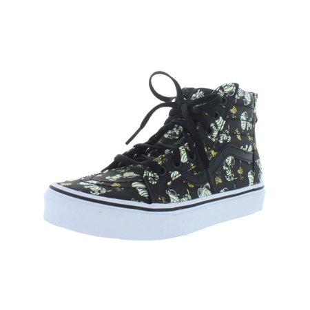 Vans Girls Sk8-Hi Zip High Top Skate Sneakers](Girls Vines)