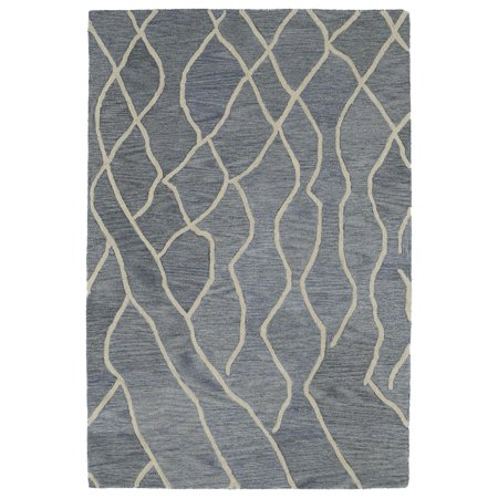 Kaleen CAS03-75 Greyish Blue Casablanca Area Rug