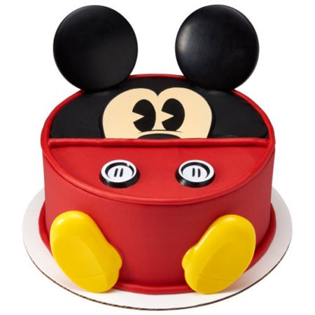 Mickey & Minnie Mouse Disney Creations Cake Decoration Set - Mickey Mouse Cake Kit