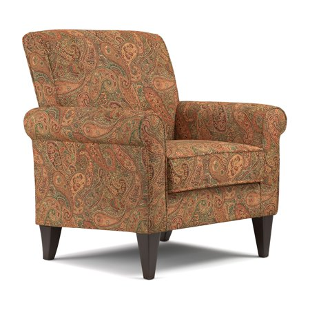 Jean Arm Chair in Paisley (Paisley Chain)