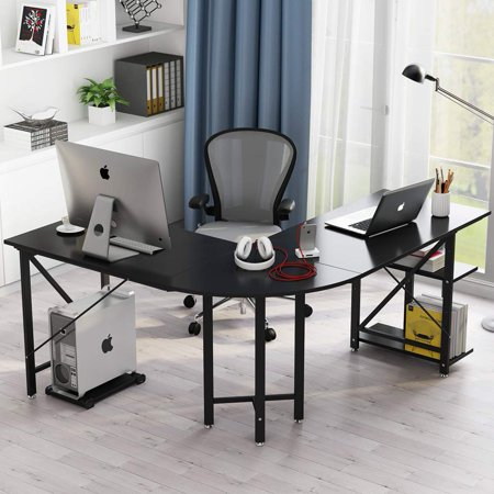 Tribesigns Large L-Shaped Desk, 67\