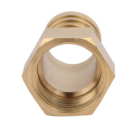 Unique Bargains 1/2BSP Female Thread 19mm Hose Barb Tubing Fitting Coupler Connect Adapter 3pcs - image 1 de 2