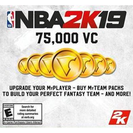 Nintendo Switch NBA 2K19 75000 VC 045496662707 (Email Delivery)