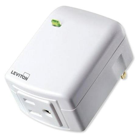 Leviton DZPA1-2BW Z-Wave Plus Plug-In Appliance Module