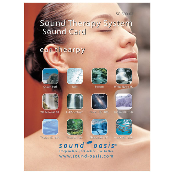 Sound Oasis Sound Card, Ear Therapy