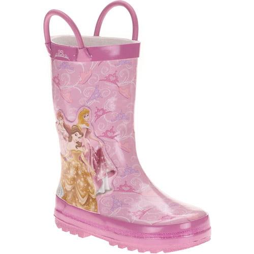 Disney Girls' Princess Rainboots