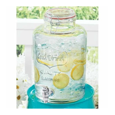 - Better Homes and Gardens Glass Beverage Dispenser