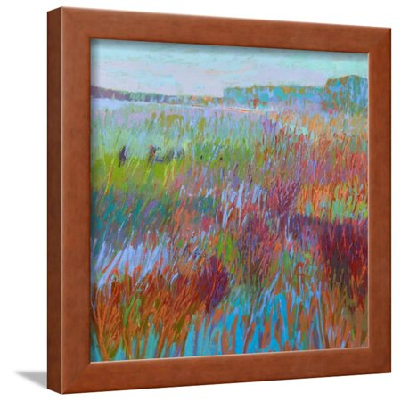 Color Field No. 71 Framed Print Wall Art By Jane