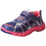 Stride Rite Little Kids Girls Racer Light-Up Starpower 525 Sneakers Shoes, Purple / Pink