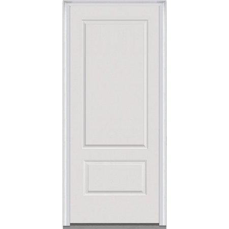 Verona Home Design Severe Weather Primed 2 Panel Out Swing