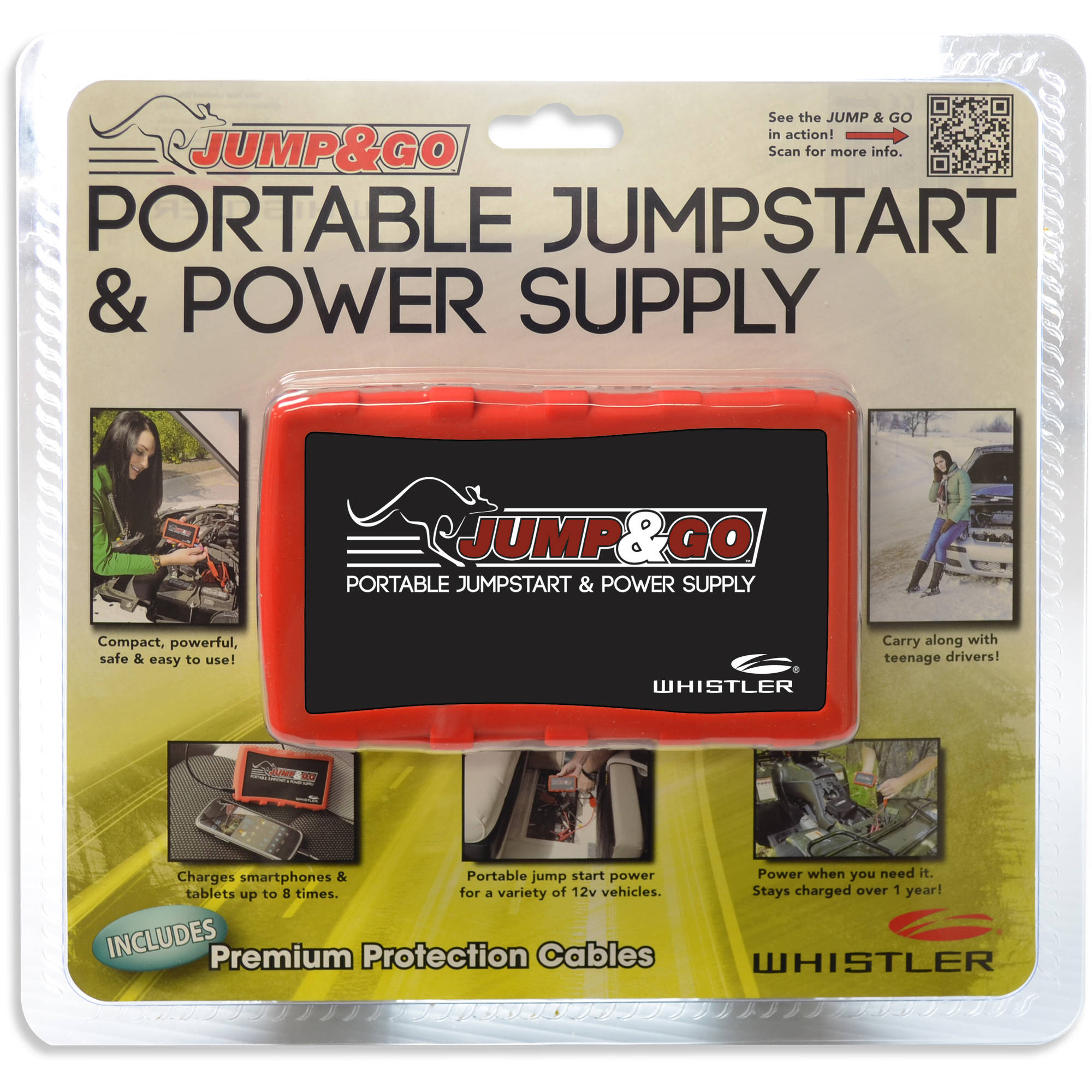 Whistler Jump&Go Portable Jumpstart and Power Supply