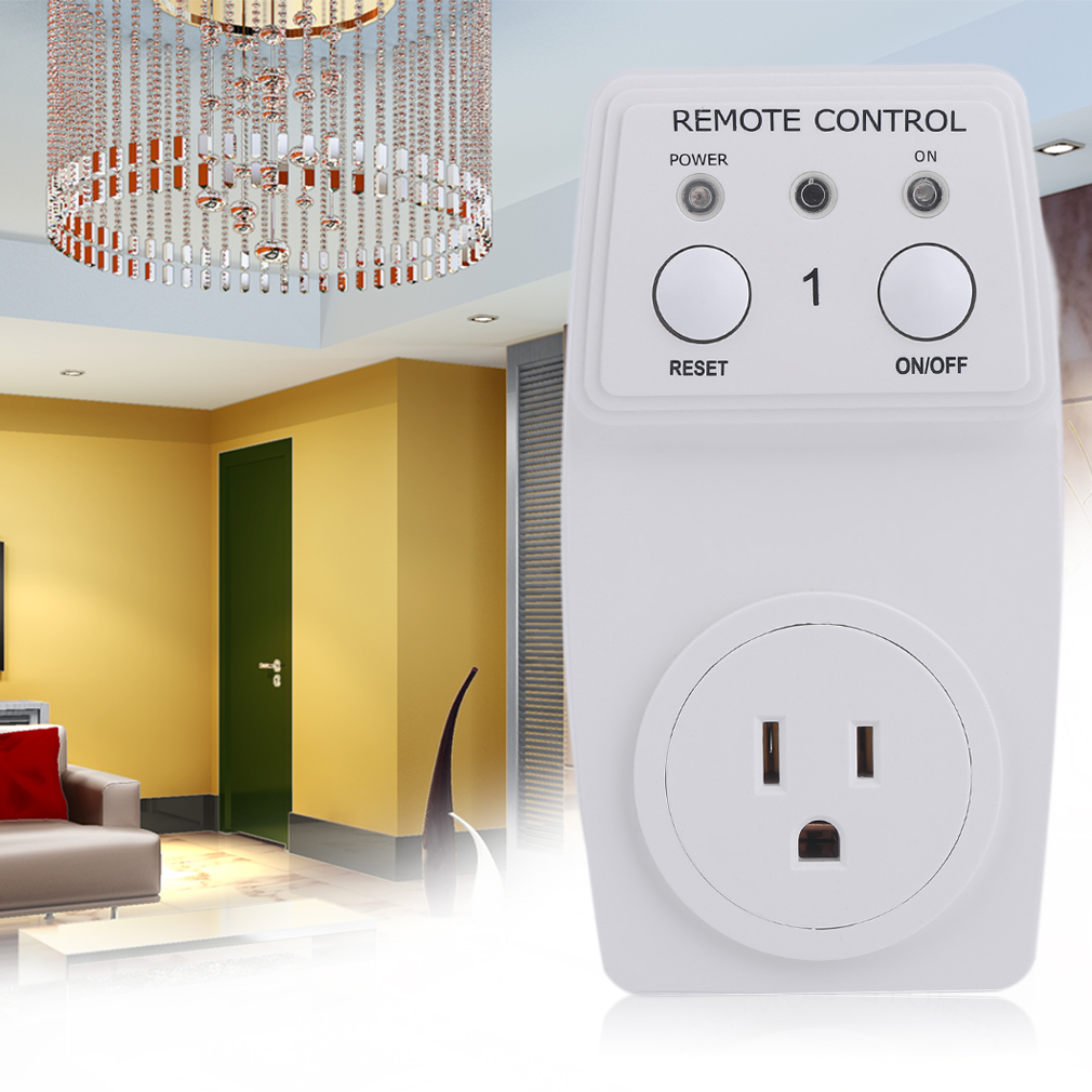 Remote Control Outlet Wireless Smart Electrical Light Switch Socket Wall Plug