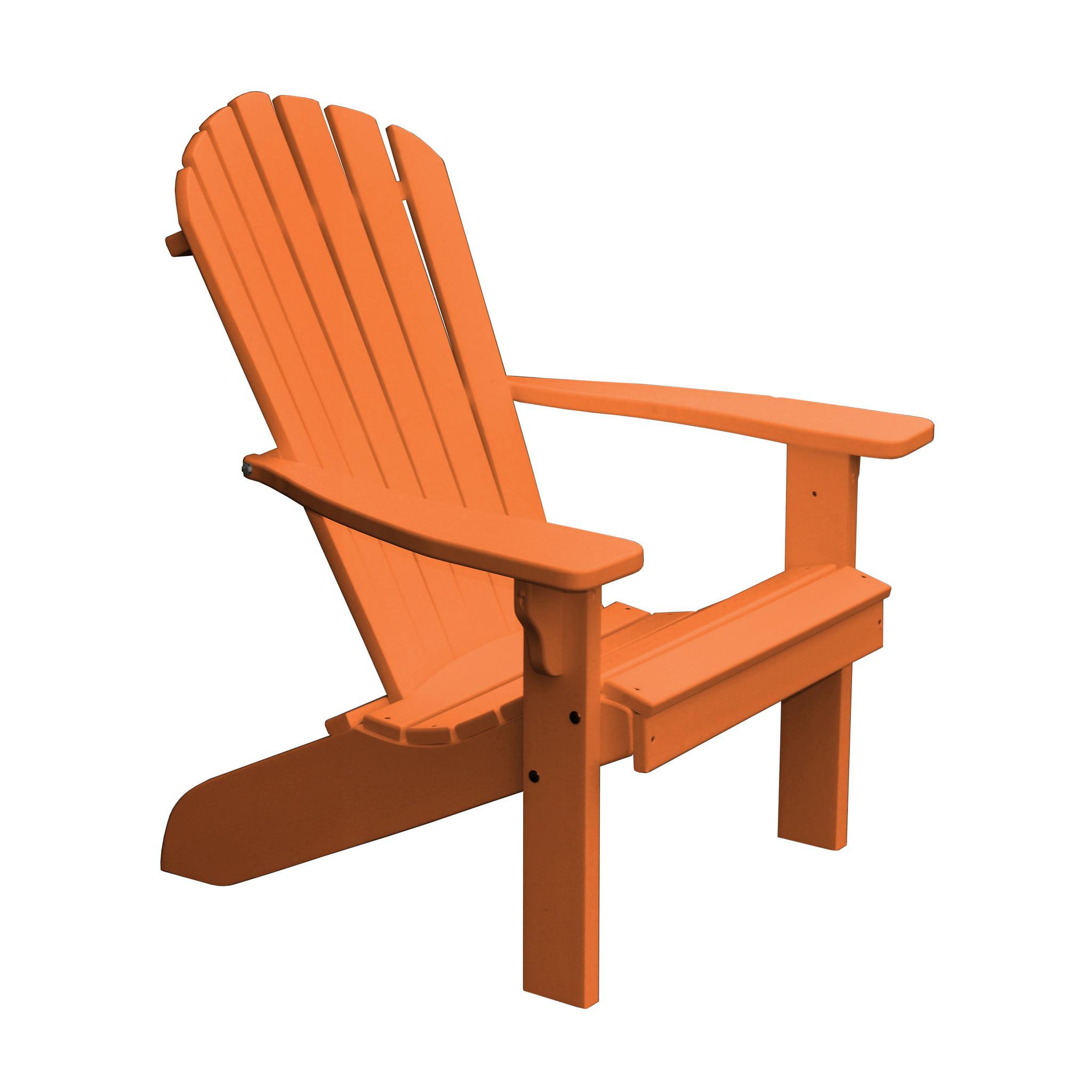 Furniture Barn USA® Poly Fan Back Adirondack Chair - Aruba Blue